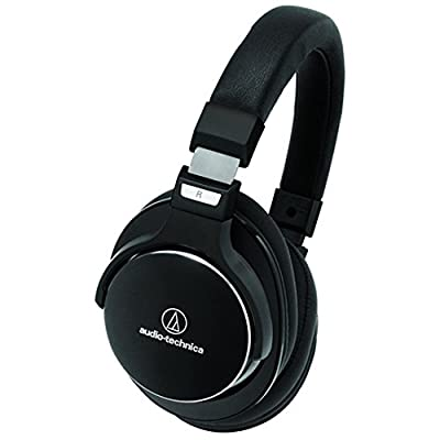 Audio-Technica SonicPro Over-Ear High-Resolution Headphones with Active Noise Cancellation & FiiO A1 Portable Headphone Amplifier