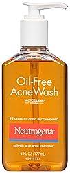 Neutrogena Oil-Free Acne Wash 177ml/6oz