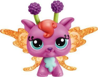 Littlest Pet Shop Enchanted Fairies Featrure Light Up Lotus Lily Fairy by Hasbro