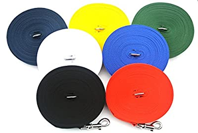100ft/30m Dog Training Lead Large (25mm) In Various Colours (CPM) Manufactured And Sold By Church Products UK Only