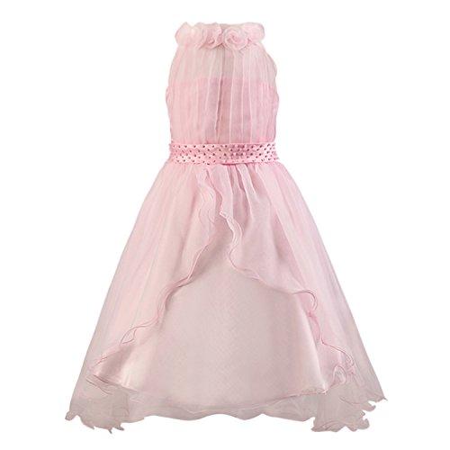 Katara 1326 - Abito da sera per bambine, 128/134 cm, colore: Rosa
