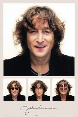 Celebrity Maxi Poster featuring the Iconic Singer John Lennon 61x91.5cm