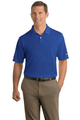 Nike Golf - Dri-FIT Pebble Texture Polo. 373749 (Blue Nike Shirt compare prices)
