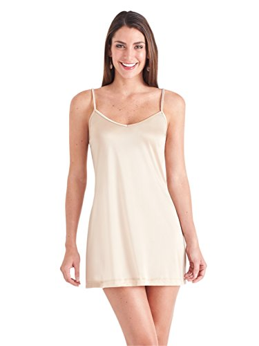 Ilusion Thin Strap Full Slip Small Nude