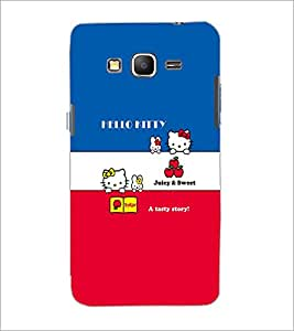 PrintDhaba Hello Kitty D-5549 Back Case Cover for SAMSUNG GALAXY GRAND PRIME (Multi-Coloured)