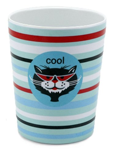Jane Jenni Cool Cat 10-Ounce Melamine Cup