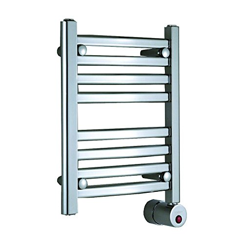 Mr. Steam W219WH Wall Mounted Towel Warmer, White Curved