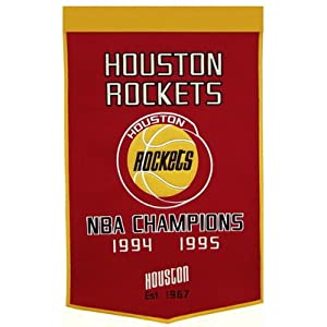 DYNASTY BANNERS-Houston Rockets Banner