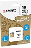 EMTEC Memory Card 16GB microSD Class 10+ SD Adapter For Nikon Coolpix S3100-