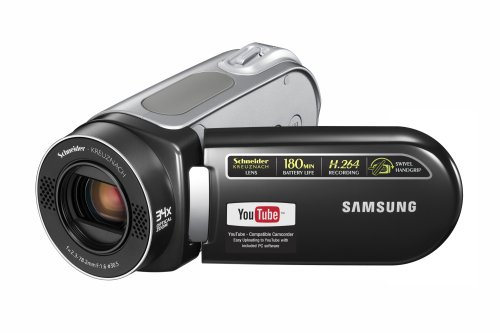 Samsung SC-MX20 Flash Memory Camcorder w/34x Optical Zoom (Black)