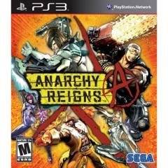 Anarchy Reigns Ps3 Console Game +Ship Us Only (Not Included Alaska,Hawaii)