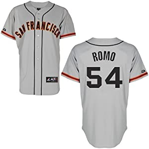 Sergio Romo San Francisco Giants Road Replica Jersey by Majestic by Majestic