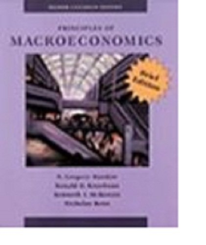 Principles of Macroeconomics / Mankiw / Kneebone