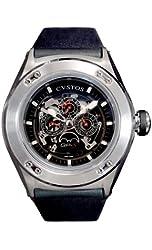 Cvstos Men's CVQPRNSTGR Challenge-R QP-S Perpetual Watch