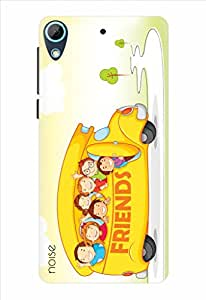 Noise Designer Printed Case / Cover for HTC Desire 626G / 626G Plus / Animated Cartoons / Fun With Friends Design
