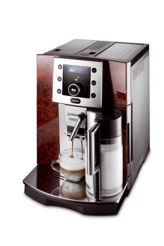 DeLonghi ESAM 5500 Wurzelholzoptik Kaffee-Vollautomat (Pronto Cappuccino Funktion, Milchbehälter) thumbnail