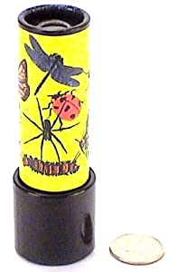 """Educational Toys, Small Jazzy """"Insects"""" Theme Kaleidoscope By Kaleido Co."""