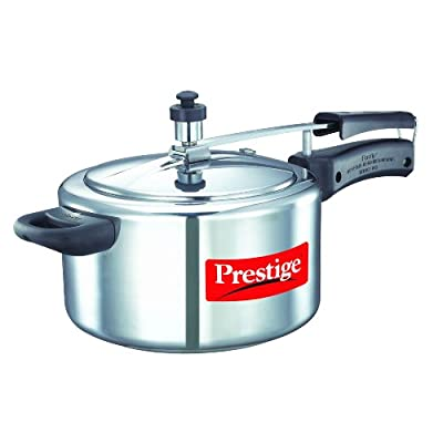 Prestige Nakshatra Aluminum Pressure Cooker, 4-Litres