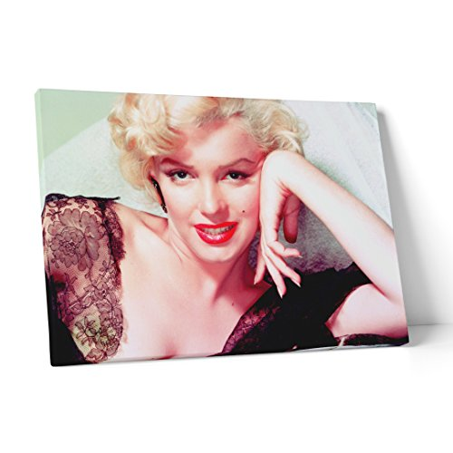 """FINE ART - Quadro in tela canvas """"Marylin Monroe - vintage"""" pronto da appendere - Spessore telaio 2cm, 70cmx100cm"""