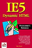 Ie5 Dynamic HTML Programmers Reference