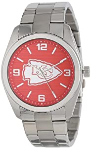 Game Time Unisex NFL-ELI-KC Elite Kansas City Chiefs 3-Hand Analog Watch by Game Time