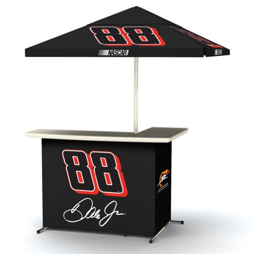 Nascar 88 Dale Earnhardt Jr Portable Wheel Travel Bag Umbrella Basic L-Shape Bar