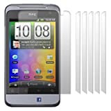 HTC SALSA SCREEN PROTECTOR / GUARD / FILM / COVER 6-IN-1 PACK