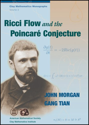 Large book cover: Ricci Flow and the Poincare Conjecture