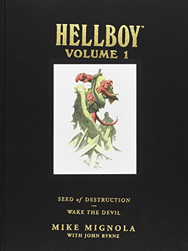 Hellboy Library Edition, Volume 1: Seed of Destruction and Wake the Devil (Hellboy, #1-2)