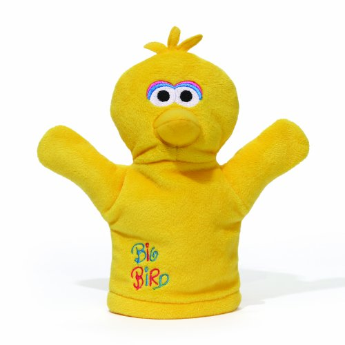 Gund Sesame Street Big Bird Baby Puppet (Discontinued by Manufacturer)