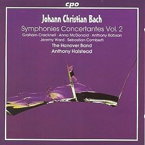 Johann Christian Bach: Symphonies Concertantes, Vol. 2