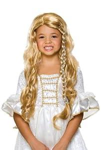 Child Glamorous Princess Blonde Wig