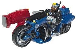 Rescue Heroes Highway Heroes Jake Justice Motorcycle Police Officer