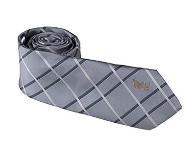 Official Liverpool FC Grey Dual Stripe Tie