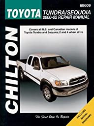 Chilton CHI68609 Toyota Tundra and Sequoia 00-07