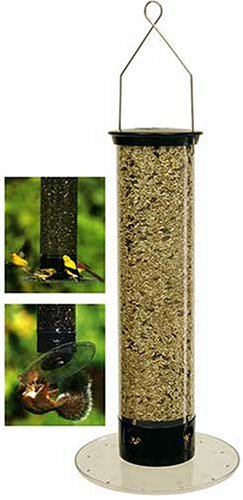 Droll Yankees Ycpt-360 Tipper 4-Port Hanging Bird Feeder