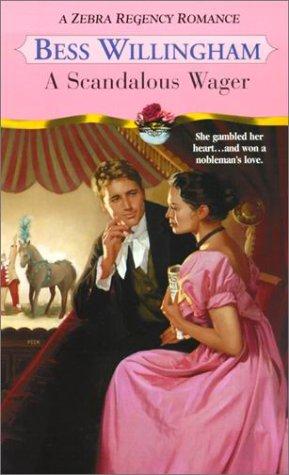 Image for A Scandalous Wager (Zebra Regency Romance)