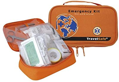 TravelSafe Emergency Kit Reiseapotheke 65 teilig Verbandskasten Outdoor Notfallset