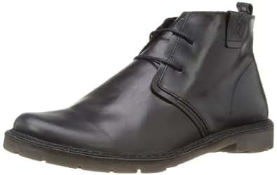 Fly London Mens Ollie Rug Desert Boots P210764012 Black 7 UK, 41 EU