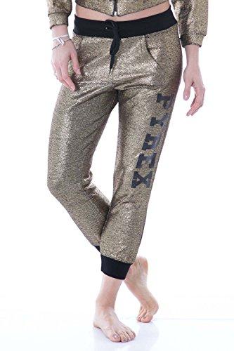 pyrex-pantaloni-donna-con-stampa-regular-fit-33089-xs-oro