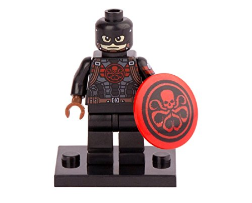 LEGO Compatible Marvel Superheros Custom Hydra Captain America Minifigure (Lego Custom Iron compare prices)