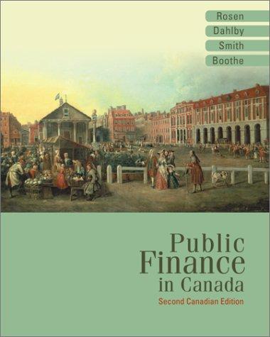Public Finance in Canada PDF