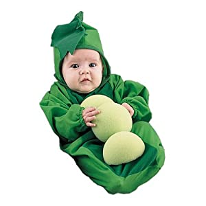 Newborn Baby Pea in The Pod Halloween Costume, 0-6 Months
