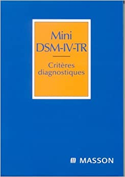 dsm iv tr book review The dsm-iv-tr® brings this essential diagnostic the shipping was fast and the book came in perfect because even though the dsm-iv is used read full review.