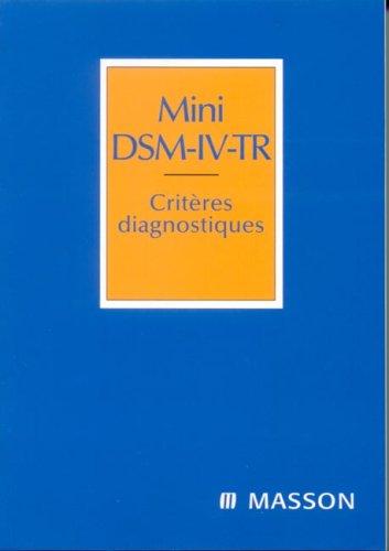 mini-dsm-iv-tr-criteres-diagnostiques