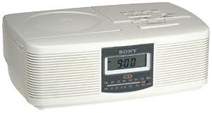 Best Buy! Sony ICFCD810 AMFM CD Clock Radio Radio Alarm ...