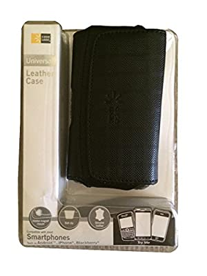 CaseLogic Universal Leather Case - Compatible with most phones such as Android iPhone & Blackberry from Case Logic