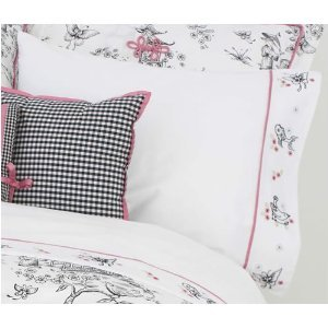 Whistle & Wink Full/Queen Sheet Set, China Doll front-674354