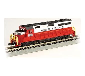Bachmann GP40 - Western Maryland Locomotive - N Scale