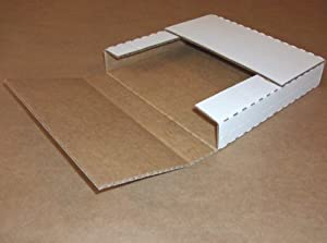 "Multi Depth White Bookfold 12 1/8"" x 9 1/8"" x1/2"", 1"", 1 1/2"", 2"" (M2BK) Category: Mailers and Pouches"